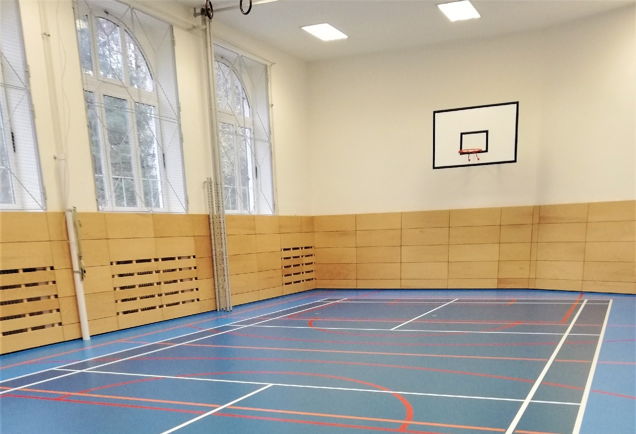Gym of II. Elementary school Holešov
